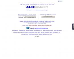 zaba search engine